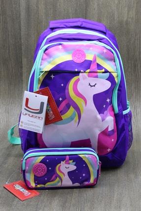Yaygan Çanta Kırtasiye Kulübü -yaygan Unicorn Okula Dönüş Seti 2 Parça Kk413