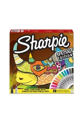REWEL Sharpie 2114965 Permanent Markör Gergedan 20 'li 891052