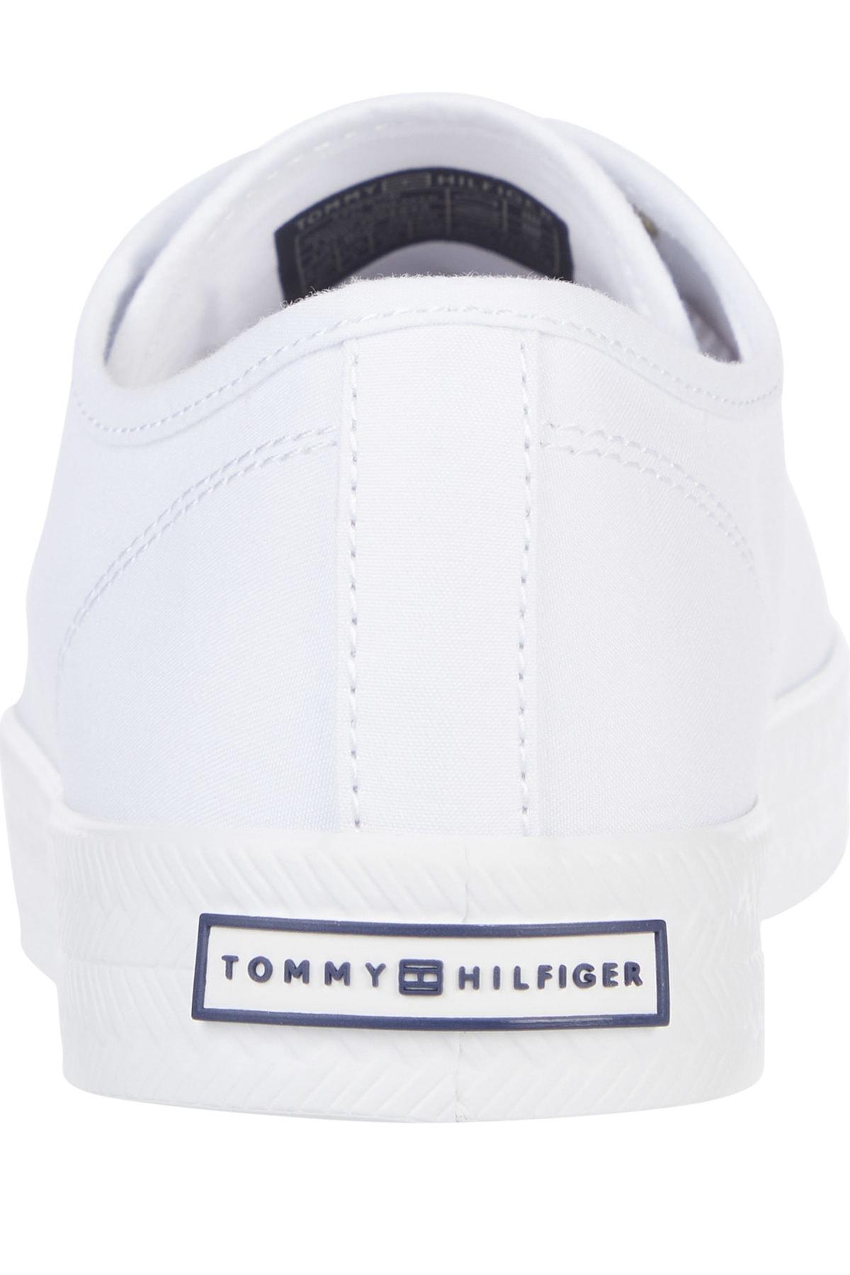 Tommy Hilfiger Kadın Beyaz Sneaker Essentıal Nautıcal Sneaker FW04848-YBS 2