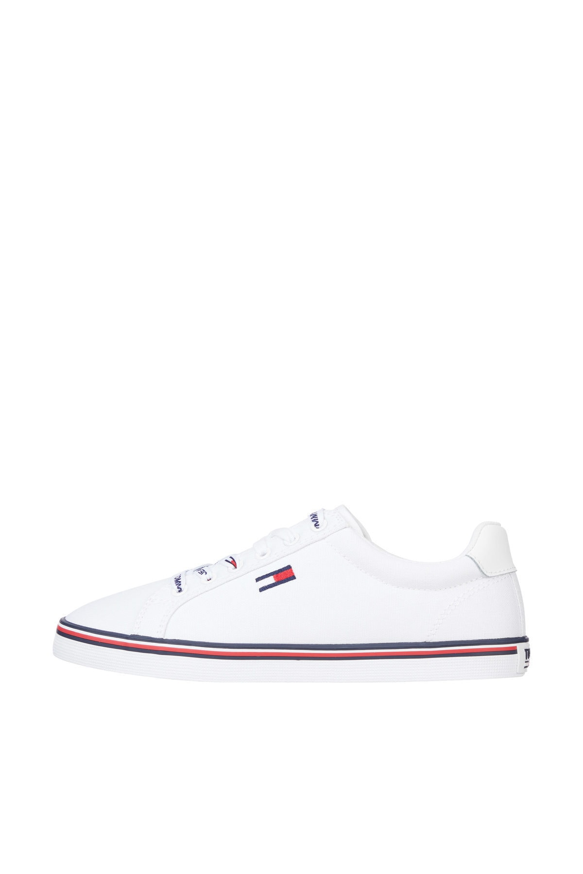 Tommy Hilfiger Kadın Beyaz Sneaker Essentıal Lace Up Sneaker EN0EN00786 1