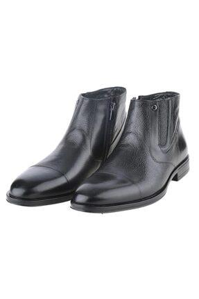 Pierre Cardin 11925251 Siyah %100 Deri Klasik Erkek Bot Ayakkabı