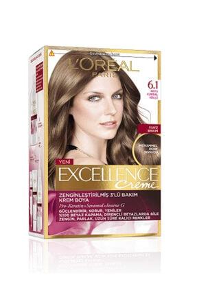 L'Oreal Paris Excellence Creme Saç Boyası 6.1 Koyu Kumral Küllü
