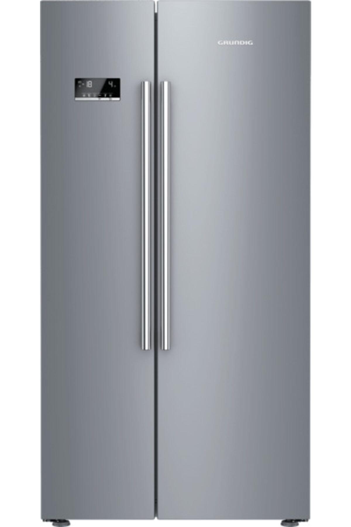 Grundig GSND 6383 S A++ Gardırop Tipi No Frost Buzdolabı 1