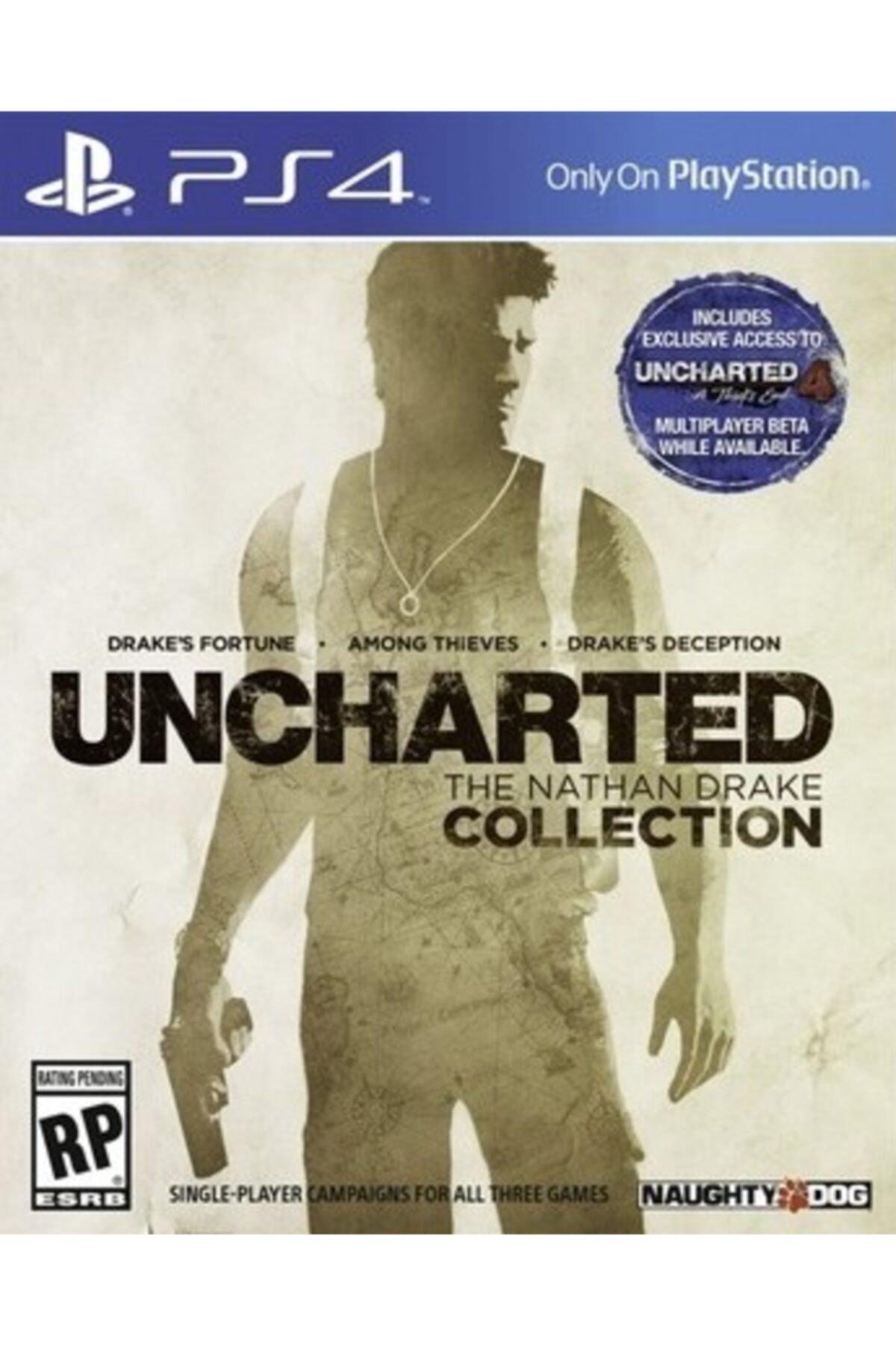 Naughty Dog Ps4 Uncharted Collection- Orjinal Oyun - Sıfır Jelatin 1