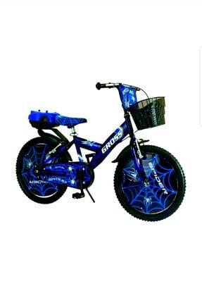 Gross 20 Jant Mavi Özel Desen Boya Çocuk Bisikleti