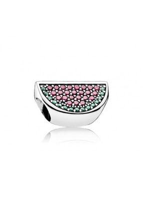 My Story Karpuz Dilimi Pandora Bileklik İçin Gümüş Charm