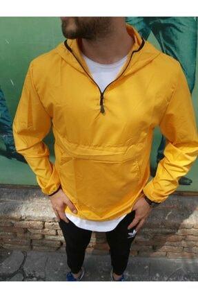 Axu Unisex Sarı Yağmurluk