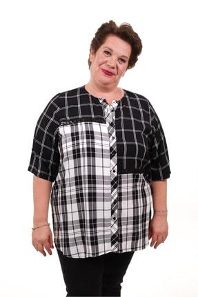 RMG Kadın Siyah Gömlek