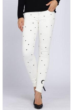 Mother Kadın Beyaz Jean Pantolon Mot1001-381-Moonlıghtonmymınd