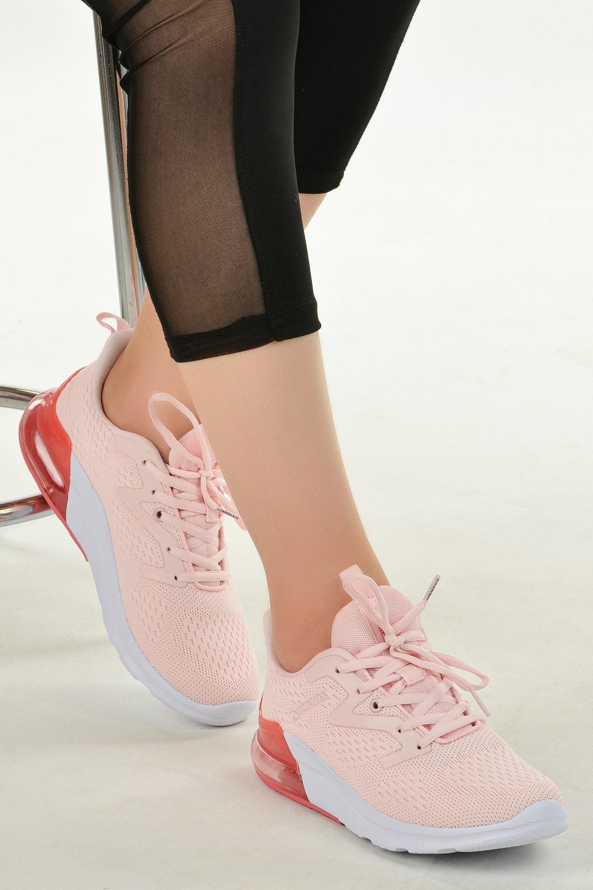 lumberjack Kadın Pembe Yürüyüş Koşu Spor Ayakkabı 1