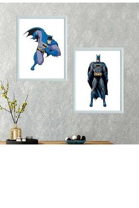 Kostüm Sarayı Batman Ikili Takım Çerçeveli Poster Tablo