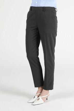 Colin's Slim Fit Düz Paça Yüksek Bel Antrasit Kadın Pantolon CL1050723
