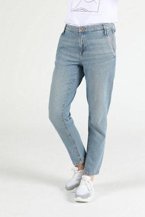 Colin's Tesa Chıno Orta Bel Rahat Kesim Paça Kadın Jean Pantolon