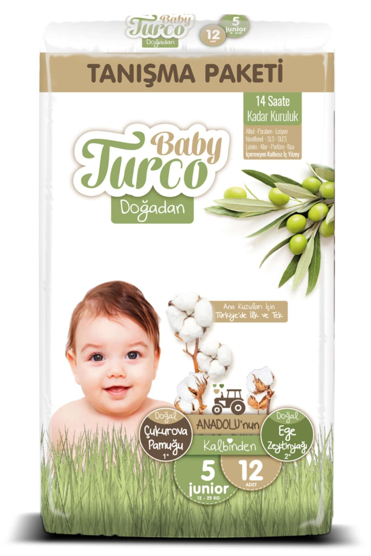 Baby Turco Doğadan 5 Numara Junıor Tanışma Paketi 12 Adet 1