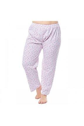 Seher Yıldızı Kadın Beyaz İki İplik Pijama
