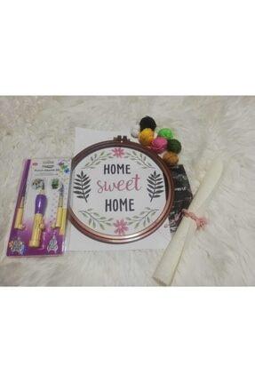 PlusHobby Home Sweet Home Punch Seti/Punch İğnesi Punch Kasnağı