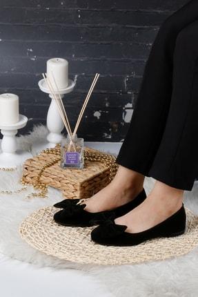 RENKLİBUTİK Siyah Kadın Ev Babeti Rahat Günlük Ayakkabı