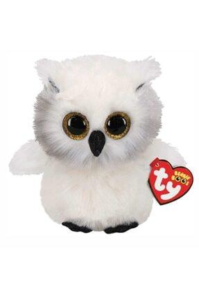 TY Beanie Boos Snowy Austin Beyaz Baykuş Peluş 15 Cm