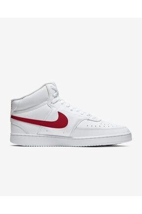 Nike Court Vision Mid Erkek Beyaz Günlük Ayakkabı Cd5466-105