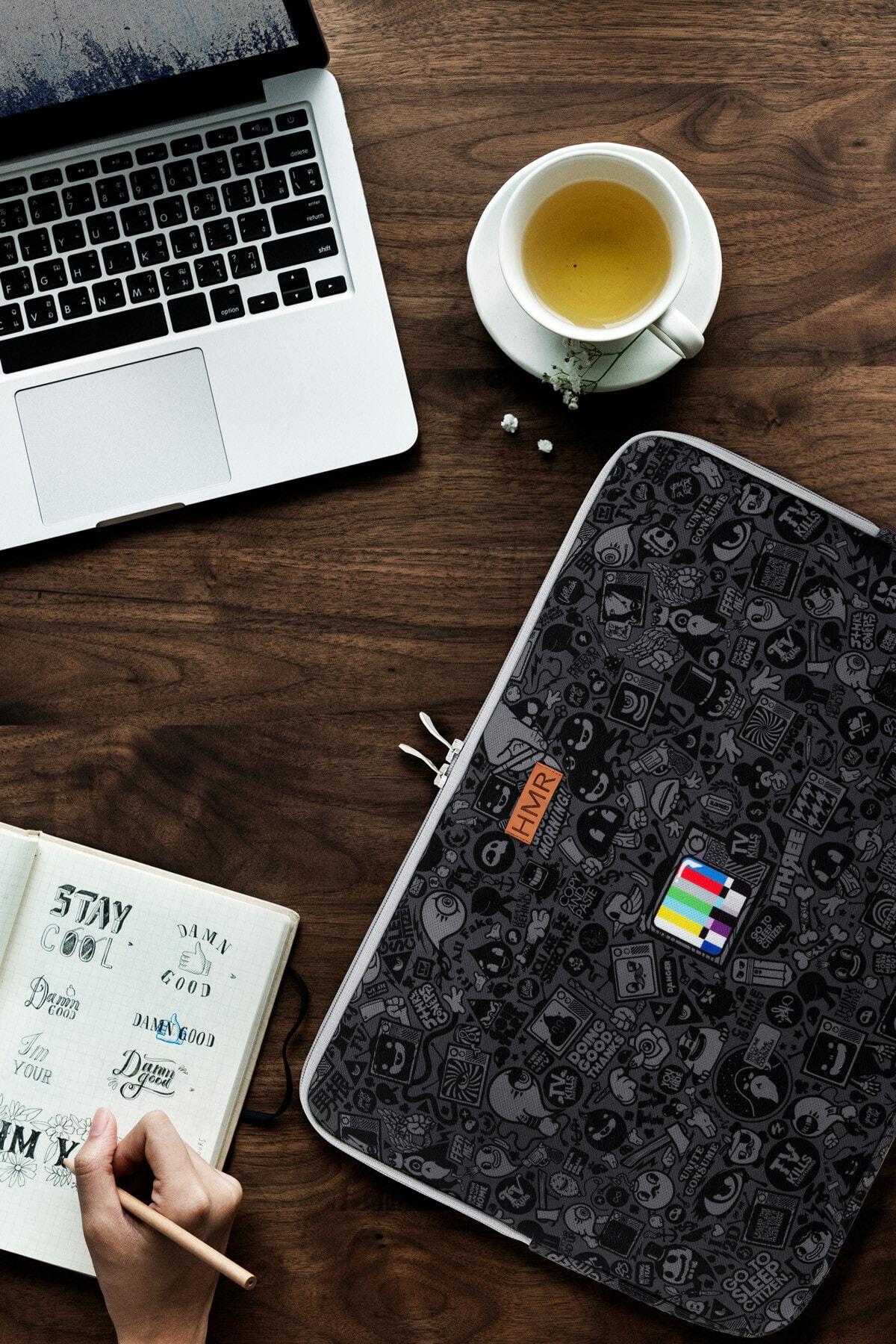 HAMUR Siyah Easy Case 13 Inç Laptop Çantası 1