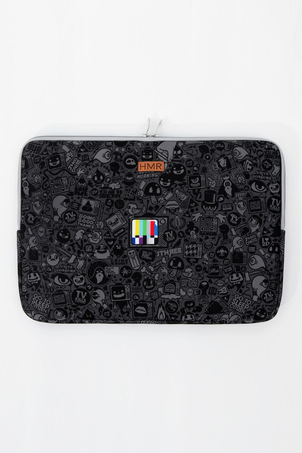 HAMUR Siyah Easy Case 13 Inç Laptop Çantası 2