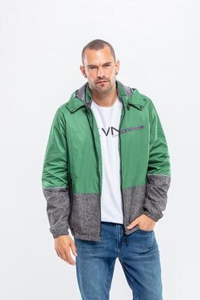 Kevin Erkek Yeşil Mevsimlik Mont