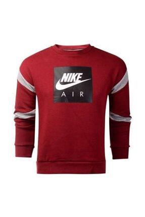 Nike Erkek Çocuk Kırmızı B Nk Aır Crew  Sweatshırt Aj0114-677