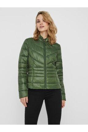 Vero Moda Kadın Yeşil Mont
