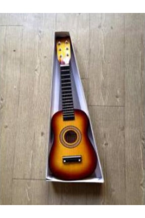gonzales Kahverengi 6 Telli Çocuk Gitarı U202-sb Sunburst 1/8 Ölçek