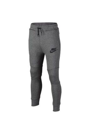 Nike Erkek Çocuk Gri  B Nsw Tch Flc Pant Eşofman Altı 804818-092