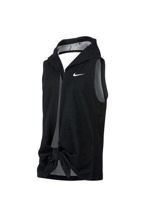 Nike Kız Çocuk Siyah G Nk Hoodıe Sl Studıo Wrap  Yelek Ar0445-010