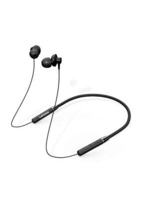 LENOVO Siyah He05 Bluetooth Kablosuz Sporcu Koşu Kulaklığı