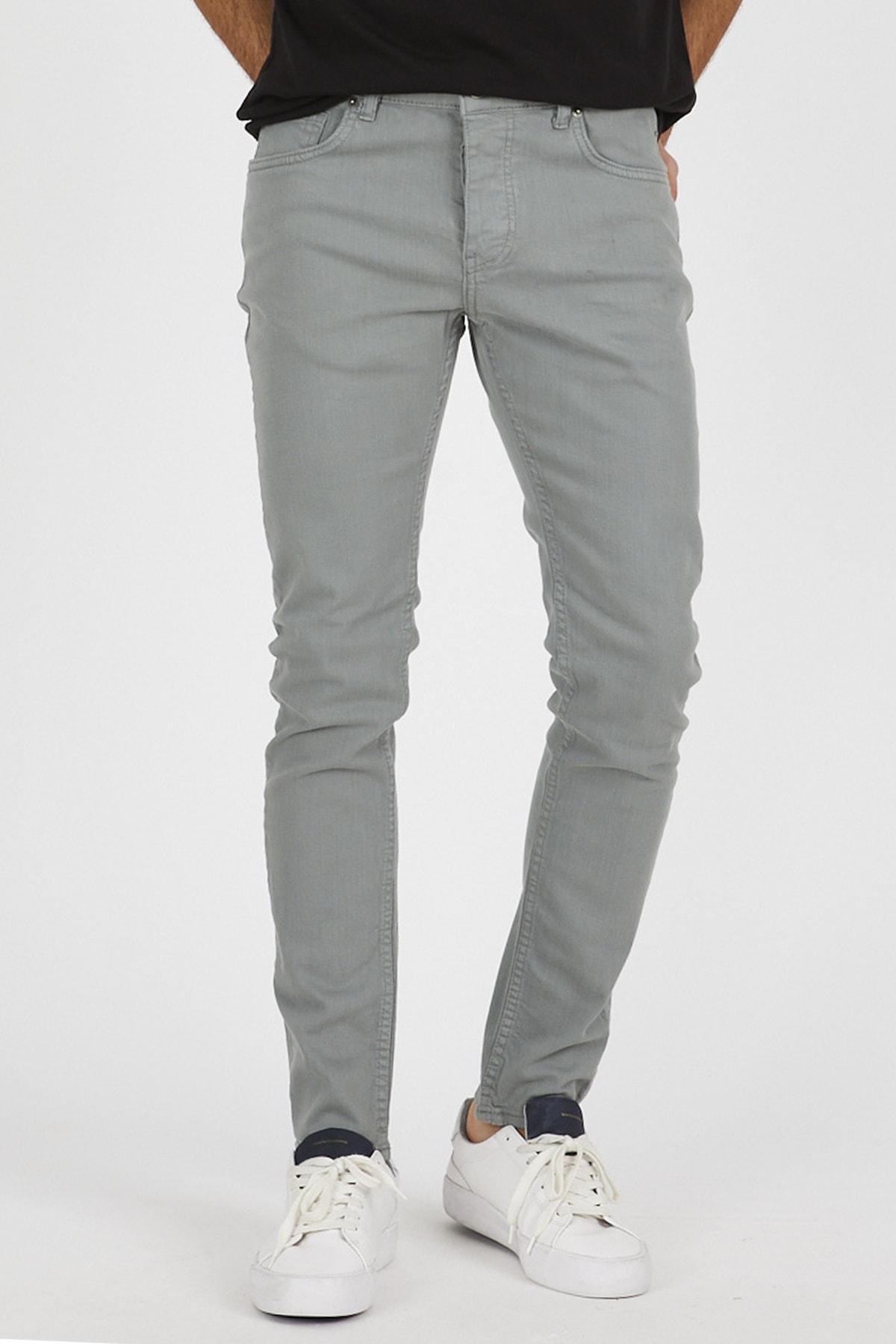Denim Republic Erkek Mint Slim Fit Pantolon 1