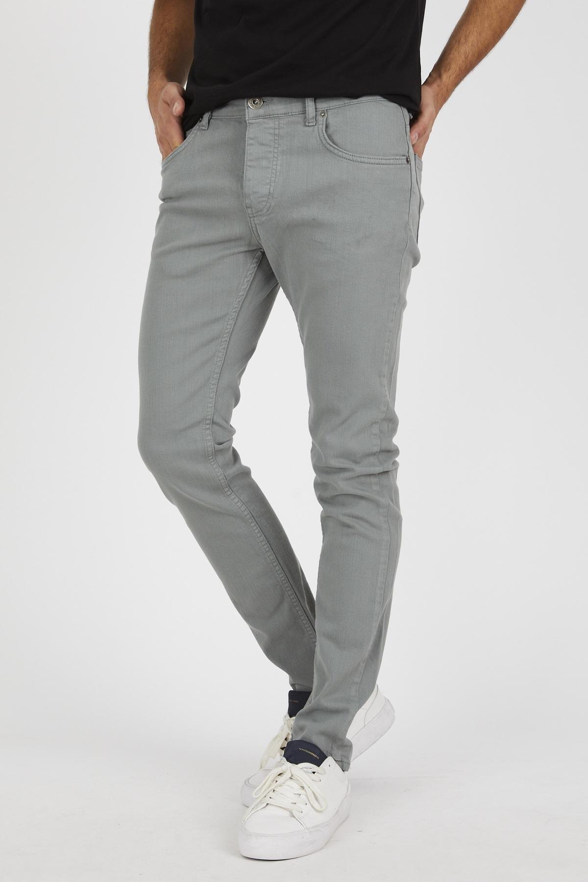 Denim Republic Erkek Mint Slim Fit Pantolon 2
