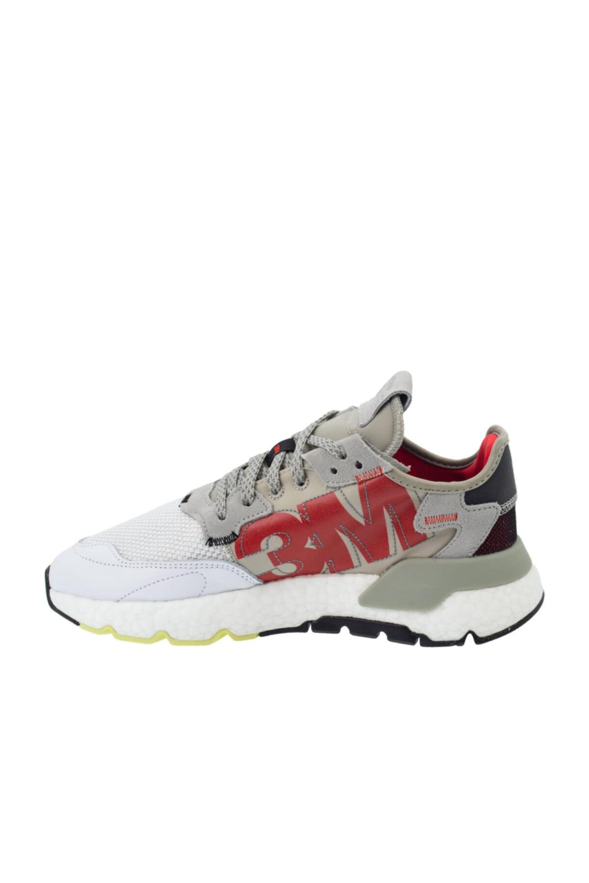 adidas Erkek Gri Bağcıklı Spor Ayakkabı ef5409 2