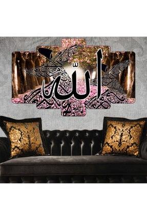 Zevahir Mobilya Dekorasyon Zevahir Mdf Dini Allah Yazılı Semazen Tablo