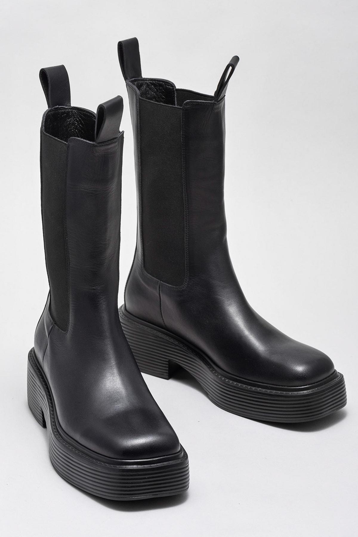 Elle Shoes Kadın Bot & Bootie Skeat 20KLB20K-128 2