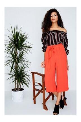 Moda Avcilari by Gülcan Kadın Nar Çiçeği Pantolon