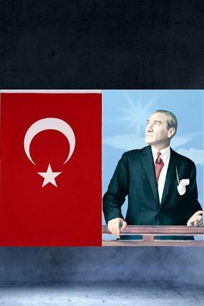 ibsALPİN BAYRAK 200x300cm Raşel Türk Bayrağı 200x300cm Raşel Atatürk Posteri