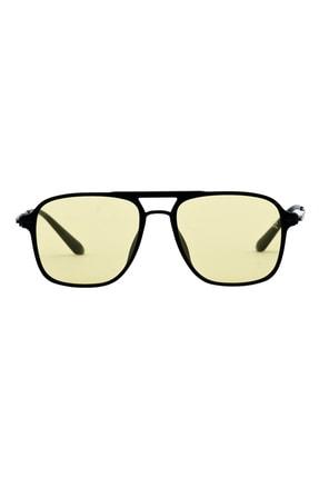 Retro Erkek Sarı Milano Güneş Gözlüğü Xıı C05 53