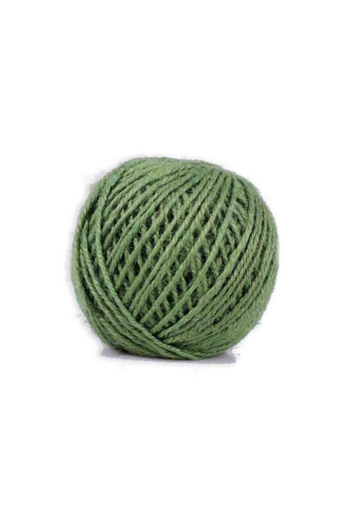 Simisso Koyu Yeşil Jüt Ipi 1