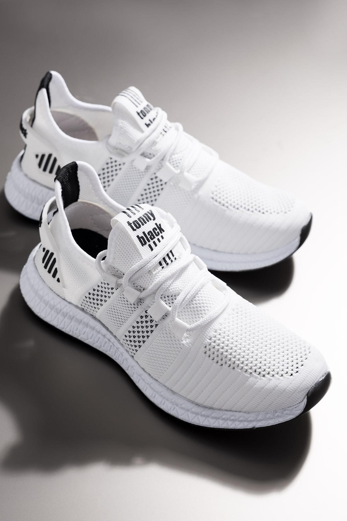 Tonny Black Unısex Beyaz Spor Ayakkabı 1