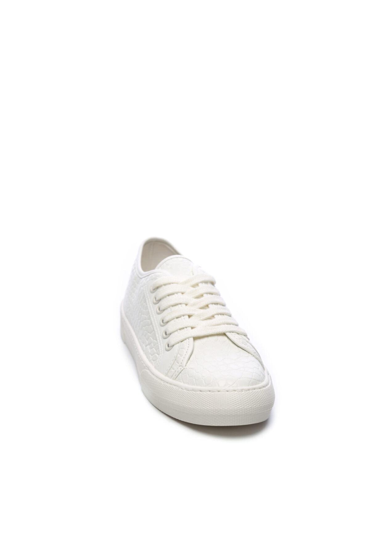 KEMAL TANCA Kadın Beyaz Vegan Sneakers ve Spor Ayakkabı 776 3214 Sk20-21 2