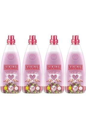 Viking Premium Konsantre Yumuşatıcı Flamingo 1200 ml X 4 Adet