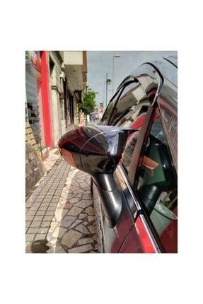 autovision Fiat Punto Batman Yarasa Ayna Kapağı Piano Black