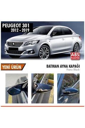 autovision Peugeot 301 Batman Yarasa Ayna Kapağı Piano Black