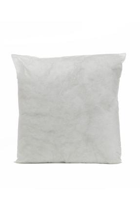 English Home Silikonlu Kırlent Kılıfı Yastığı 45x45 Cm Beyaz