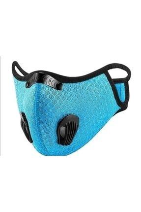 Wedo Aktif Karbon Filtreli Yıkanabilir N 95 Bisikletçi Sporcu Maskesi
