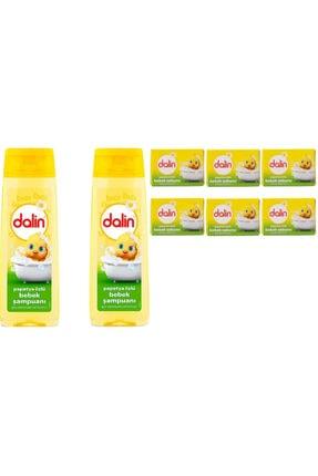 Dalin Papatya Özlü Bebek Sabunu X 6 Adet+ Papatya Özlü Bebek Şampuanı 200ml 2'li