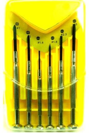 Sonax 6 Parça Saatçi Mini Tornavida Elektronikçi Tornavida